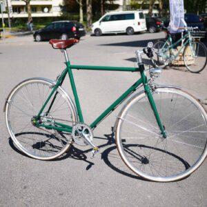 Moosgrün Herren Bike