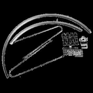 BLB Schutzblech Classic in Silber
