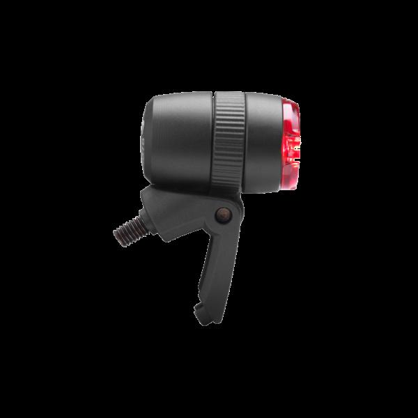 Busch Müller Dynamo Rücklicht LED in schwarz seitlich