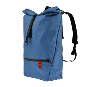 Red Rebane Gepäckträger Rucksack Purist Pro blau Komplettansicht