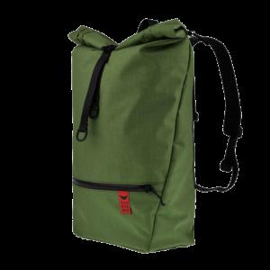 Red Rebane Gepäckträger Rucksack Purist Pro grün Komplettansicht