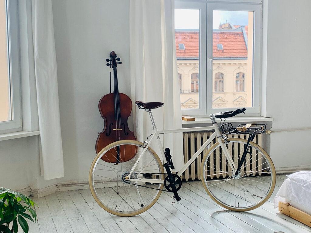 Bike Bullhorn Geige