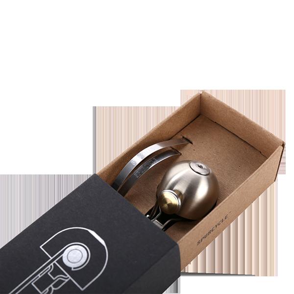 spurcycle Klingel Produktbild mit Verpackung